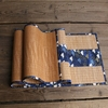 chemin-de-table-style-zen-bambou-bleu