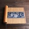 chemin-de-table-asiatique-lotus-bleu