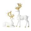 decoration-de-table-renne-blanc-noel