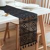 chemin-de-table-moderne-au-crochet-noir