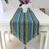 chemin-de-table-motif-ethnique-bleu