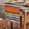 chemin-de-table-mexicain-rayures-orange