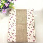 chemin-de-table-toile-de-jute-vintage-mariage-fleurs