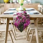 chemin-de-table-fleuri-anniversaire-fuchsia