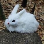 decoration-de-table-pour-paques-lapin-blanc-mignon