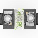 chemin-de-table-theme-champetre-fleurs