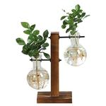 Vase-decoration-table-piedestal-bois