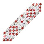 chemin-de-table-noel-fleur-rouge-et-blanc