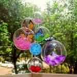 10-pi-ces-d-corations-de-no-l-de-la-serveuse-boule-Transparent-ouvert-en-plastique