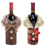 decoration-de-bouteille-manteau-ecossais