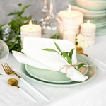 serviettes-de-table-tissu-coton-blanc-moderne