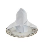 serviettes-de-table-tissu-coton-blanc