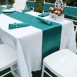 serviettes-de-table-satin-mariage