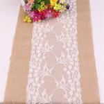 chemin-de-table-toile-de-jute-dentelle-30-cm-mariage-fleurs-champetre