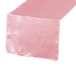 chemin-de-table-satin-rose