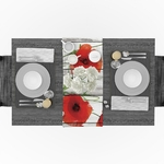 chemin-de-table-coquelicot-anniversaire-fleur