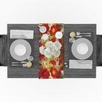 chemin-de-table-champetre-anniversaire-fleur