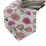 chemin-de-table-printanier-fleur