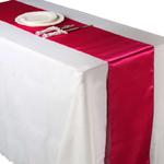 chemin-de-table-satin-rose-fuchsia-mariage