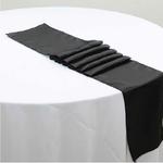chemin-de-table-satin-noir-mariage
