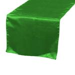 chemin-de-table-satin-vert