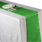 chemin-de-table-satin-vert-mariage-bapteme