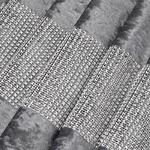 chemin-de-table-argente-strass-diamant-nouvel-an