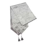 chemin-de-table-gris-paillete-fete-moderne