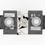 chemin-de-table-pour-reveillon-marbre-or