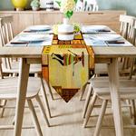 chemin-de-table-theme-afrique-savane
