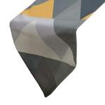 chemin-de-table-scandinave-jaune-et-gris