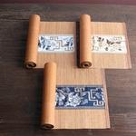 chemin-de-table-asiatique-bambou-blanc-bleu
