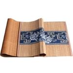 chemin-de-table-asiatique-bambou-bleu-naturel