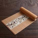 chemin-de-table-asiatique-bambou-naturel-tissu