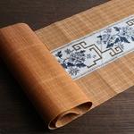 chemin-de-table-asiatique-bambou-fleurs