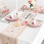 chemin-de-table-flamant-rose-anniversaire-oiseaux