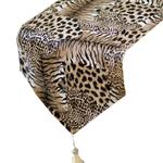 chemin-de-table-leopard-fourrure