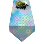 chemin-de-table-sirene-multicolore