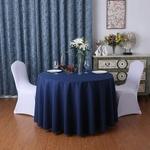 nappe-pour-table-ronde-tissu-bleu-marine