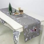 chemin-de-table-noel-gris-brode