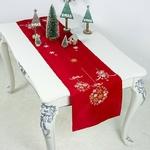 chemin-de-table-de-noel-rouge-neige