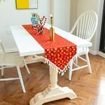 chemin-de-table-noel-rouge-et-or-metal