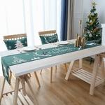 chemin-de-table-noel-vert-traditionnel