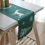 chemin-de-table-noel-vert-foret