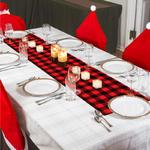 chemin-de-table-noel-tartan-rouge-noir