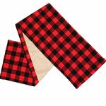 chemin-de-table-noel-tartan-carreaux-rouge-noir