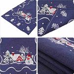 chemin-de-table-noel-bleu-brode-motifs
