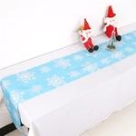 Chemin-de-table-flocon-de-neige-blanc-noel
