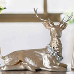 statuette-cerf-deco-rose-gold