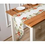 chemin-de-table-brode-noel-fleurs